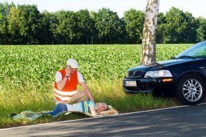 Bei einem Unfall sollte jeder wissen, was zu tun ist und helfen (Bilges/HDI)