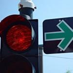 Grüner-Ampel-Pfeil bringt laut neuer Studie keine Vorteile