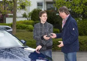Ein Autokauf bringt auch Versicherungen mit sich (HDI/ Sigrun Bilges)