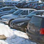Parkplatzprobleme zur Winterzeit